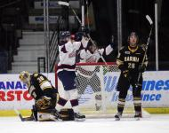 Spirit score twice in first period and twice in second in 4-2 road victory over Sarnia Sting