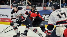 Spirit pull off 3-2 shootout victory over Windsor Spitfires on the road Sunday