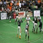 Saginaw Sting football team on a Roll