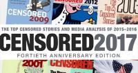Project Censored:  The Top 10 Censored Stories of 2016