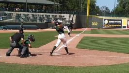 Loons score 2 runs in each of the final 3 innings for an 8-2 victory over the Dayton Dragons
