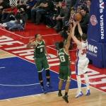 Detroit Pistons play a poor game against Milwaukee Bucks