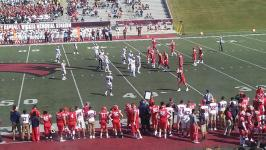 Former Arthur Hill standout Nate Moore rushed for 126 yards as SVSU shutout Walsh University 28-0 in the home opener
