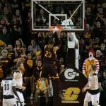 Central Michigan win thriller over rival Western Michigan 86-82