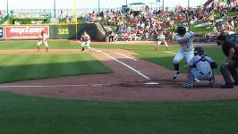Loons nip Bowling Green Hot Rods 2-1 in first 7 inning game of a double header