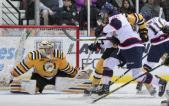 Spirit score four power play goals in crucial 6-5 victory over Sarnia Sting