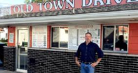 Taking a Trip Back in Time to the Old Town Drive In