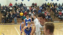 Valley Lutheran boys basketball team out