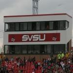 Saginaw Valley State University mows down Lake Erie 44-13
