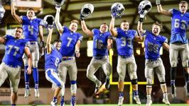 Nouvel CC punches ticket to Ford Field and 2017 MHSAA division 8 state championship game with 17-14 win over Iron River West Iron County