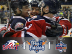 Spirit close gap in playoff chase with 4-1 win over Flint Firebirds