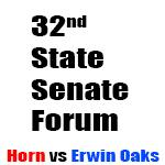 Candidate Forum - The 32nd State Senate Race Between Ken Horn & Stacy Erwin Oakes