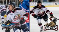 Hayden Hodgson and Filip Hronek make the jump to the American Hockey League