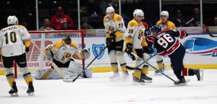 Spirit four game win streak ends after surrendering 3 third period goals in 5-2 loss to Sarnia Sting