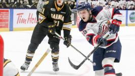 Cole Coskey scores OT game winner to cap improbable comeback as Spirit beat No. 1 ranked Sarnia Sting 7-6 in OT