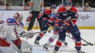 The Saginaw Spirit start strong before ultimately dropping a 5-3 decision to the Kitchener Rangers