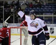 two different defensemen score 2 goals each to lead Spirit to 5-3 victory over the Owen Sound Attack