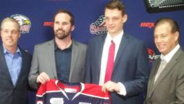 Spirit GM Dave Drinkill announces signing of 2016 draft pick Jake Goldowski to OHL standard player agreement